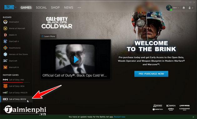 cach sua loi call of duty black ops cold war fatal error issues