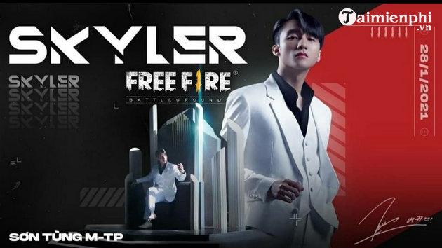 ky nang nhan vat skyler trong free fire su dung nhu nao