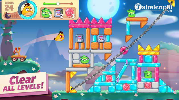 Take a look at angry birds journey game