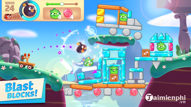 chi tiet danh gia game angry birds journey