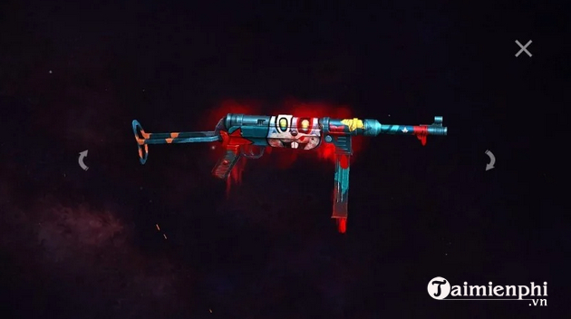 but the best mp40 skin in free fire