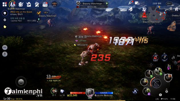 meo choi tang luc chien cp bless mobile nhanh nhat
