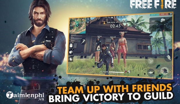 Why can so huu andrew in free fire