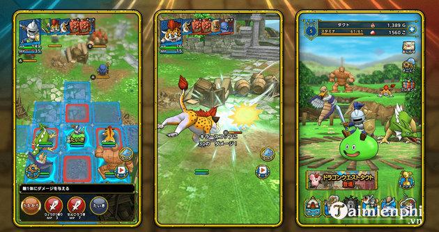 Mẹo chơi Dragon Quest Tact dành cho người mới