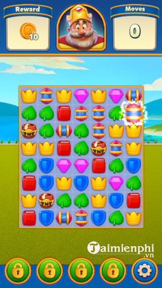 Royal game royal match vuot through new cap do