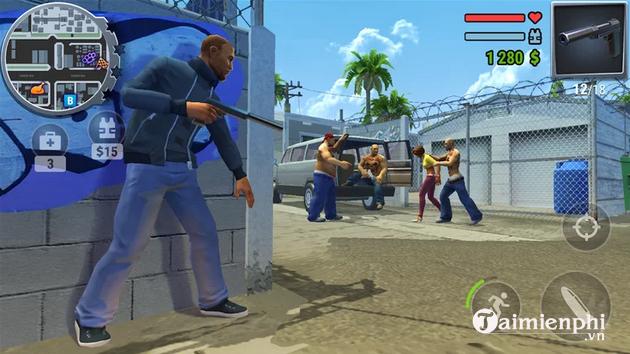 Top 5 game offline cho Android giống GTA 5 dưới 200MB