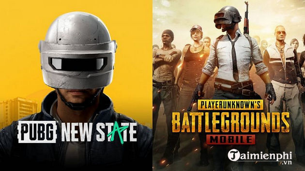 So sánh PUBG New State vs PUBG Mobile