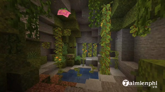 Minecraft wallpapers of minecraft caves and cliffs