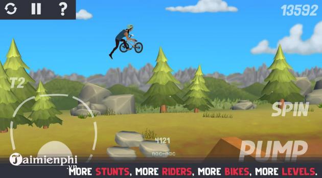 Mẹo chơi Pumped BMX 3 đạt điểm số cao nhất