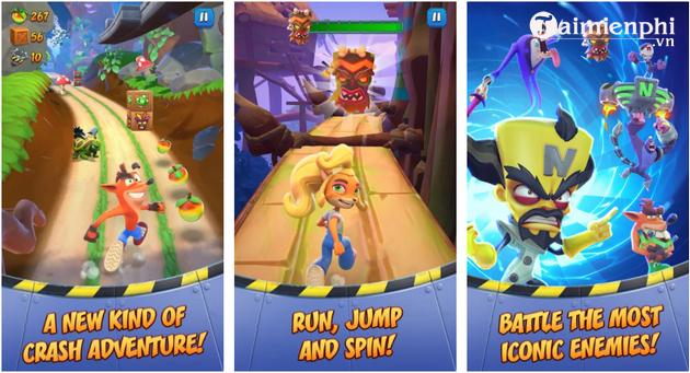 Link tải game Crash Bandicoot cho Android, iOS