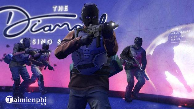 Cách nhận Kim Cương trong GTA Online The Diamond Casino Heist