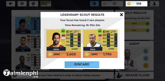 Mẹo chơi Dream League Soccer 2021 cho người mới