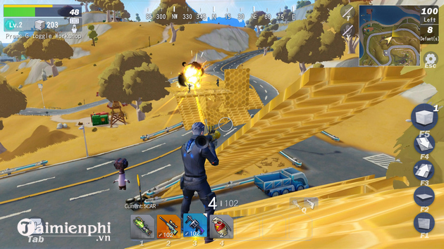 top 5 game android hay nhu free fire 2021