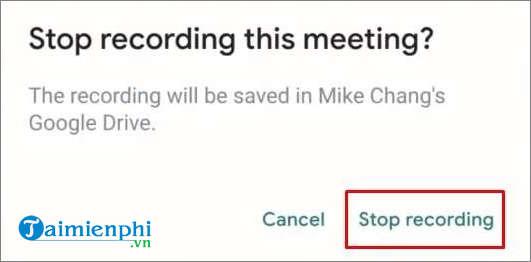 cach ghi hinh tren google meet