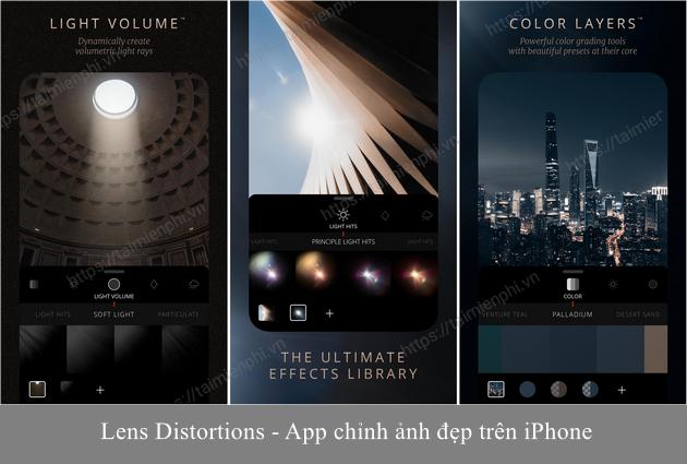 app chinh anh dep tren iphone