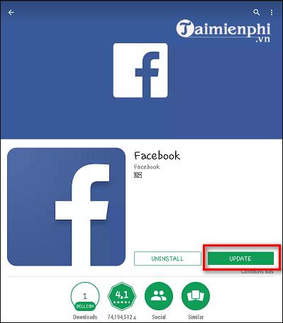 cach khac phuc loi facebook bi vang