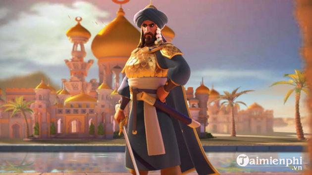tuong chi huy ky binh manh nhat trong rise of kingdoms