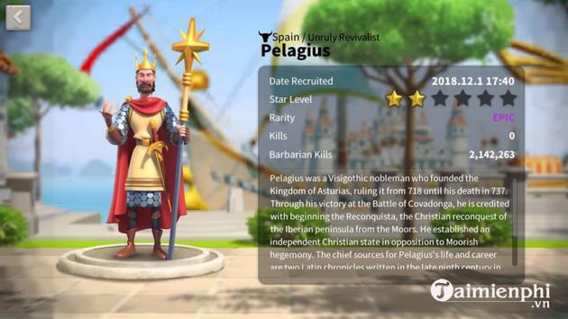 cac tuong ky binh dang choi trong rise of kingdoms