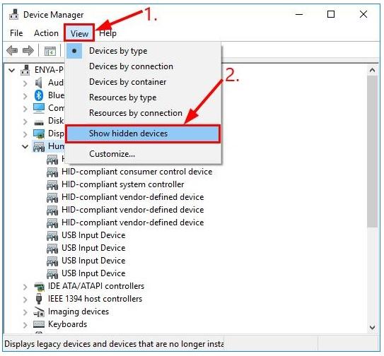 Máy tính không nhận Card màn hình 2