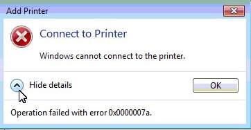 Máy tính không nhận máy in 2