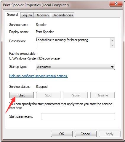Máy tính không nhận máy in 7
