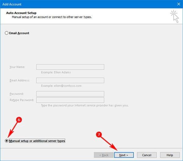 Cài gmail vào Outlook 2016 với IMAP 4
