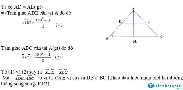 Phương pháp chứng minh 2 đường thẳng song song trong hình học 4
