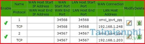cach nat port forward port voi cac modem pho bien 5