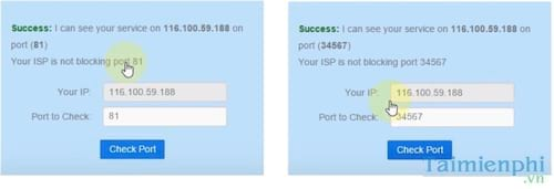 Cách NAT Port Modem Viettel, mở cổng modem Viettel