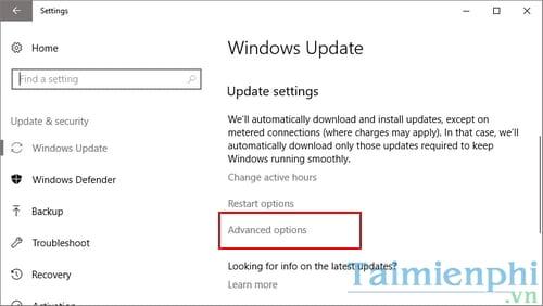 Cách tăng tốc internet Windows 10 3