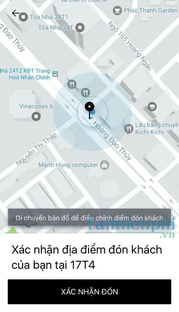 Cách gọi xe ôm Uber, gọi Uber Moto 4