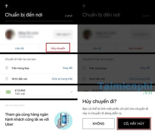 Cách gọi xe ôm Uber, gọi Uber Moto 7