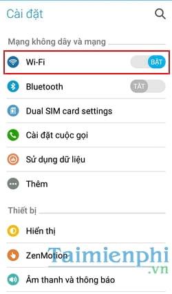 Cách kết nối lại wifi khi mật khẩu wifi thay đổi