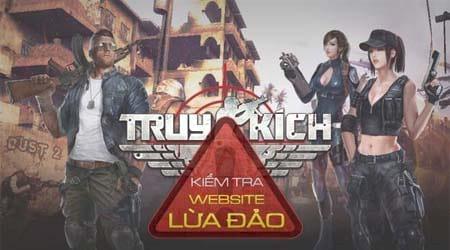 cach kiem tra website lua dao dang nhap nap the truy kich