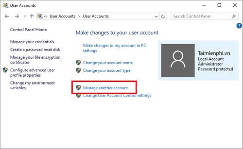 Cách đổi tên tài khoản Windows 10, edit user name 4