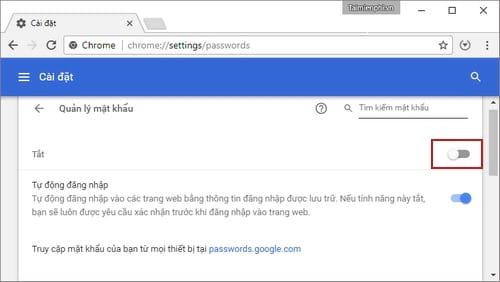 Cách vào Gmail không lưu mật khẩu trên máy tính