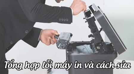 Image result for cách sửa máy in