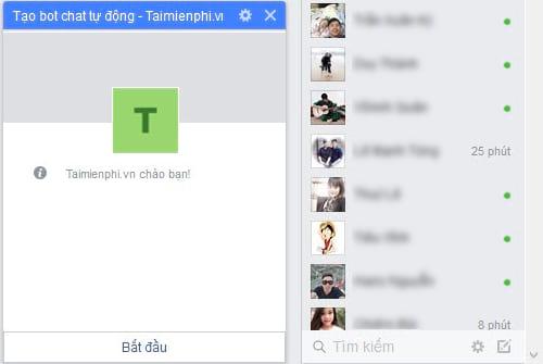 Tự tạo chatbot Facebook, trả lời tin nhắn tự động Messenger 29