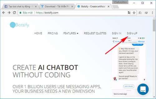 Tự tạo chatbot Facebook, trả lời tin nhắn tự động Messenger 10