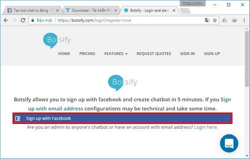 Tự tạo chatbot Facebook, trả lời tin nhắn tự động Messenger 11