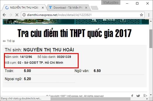 Cách xem điểm thi THPT 2017, tìm và tra hỏi điểm thi tốt nghiệp THPT Q