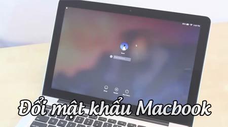 cach doi mat khau macbook