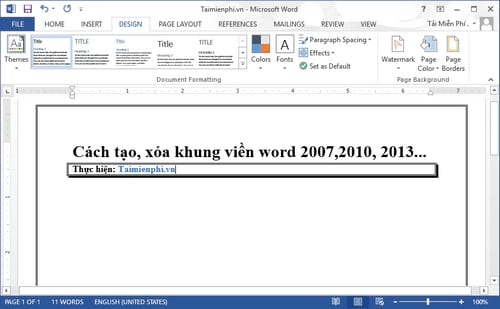 cach tao xoa khung vien word 2007 2010 2013 6