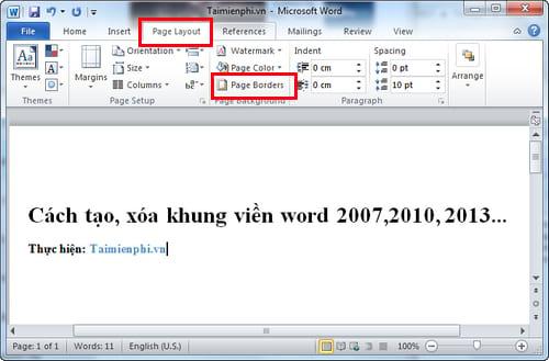 cach tao xoa khung vien word 2007 2010 2013 7