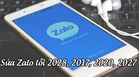cach sua zalo loi 2028 2017 2020 2027