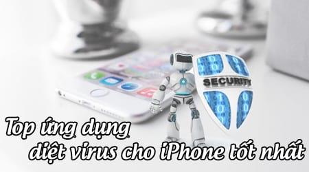 phan mem diet virus cho iphone