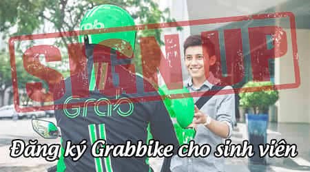 cach dang ky grabbike lai xe om cho sinh vien