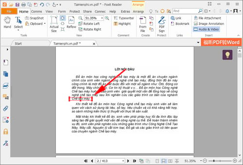 How to import music into pdf file by foxit reader 9