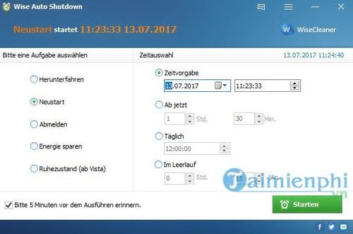 Top phần mềm hẹn giờ tắt máy tính