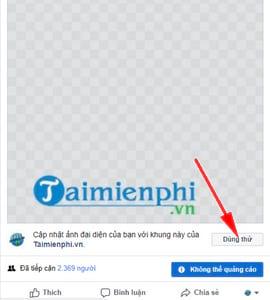 Cách tạo khung hình Avatar Facebook kèm hiệu ứng 13